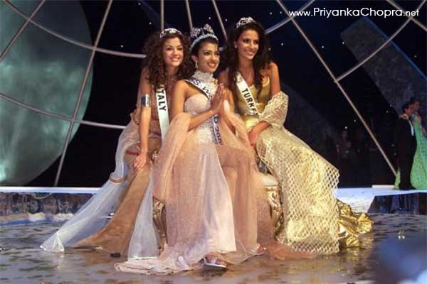priyanka chopra @ miss world 2000