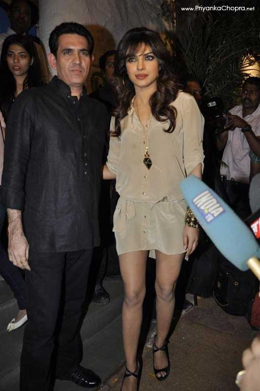 Priyanka Chopra at Sanjay Leela Bansali birthday