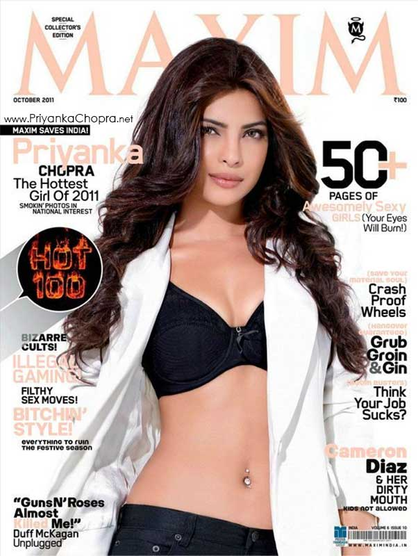 Priyanka Chopra Maxim India 2011
