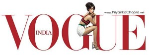 Priyanka Chopra on the cover of Vogue India [March 2013]