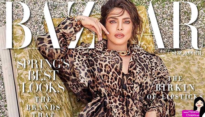 Priyanka Chopra – Harper's Bazaar India