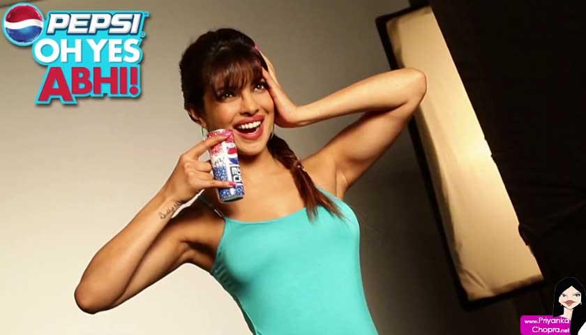 Priyanka Chopra, Pepsi ad