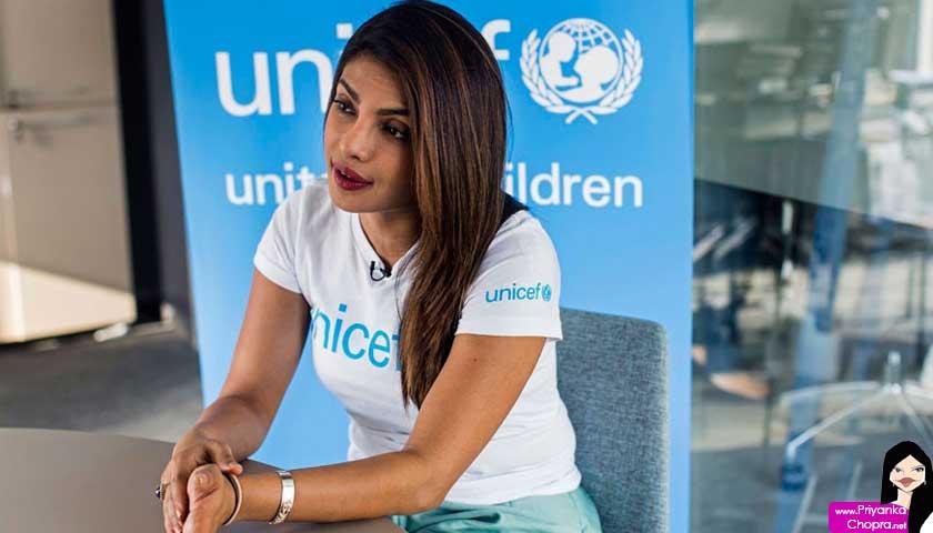Priyanka Chopra, UN Peace Ambassador