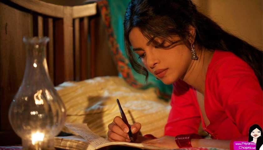 priyanka chopra writing